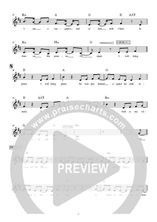 Desert Song Lead & Piano/Vocal (Hillsong Worship)