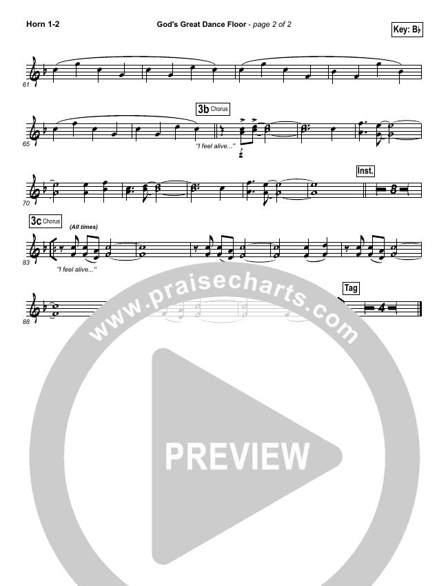 God's Great Dance Floor Brass Pack (Chris Tomlin / Passion)