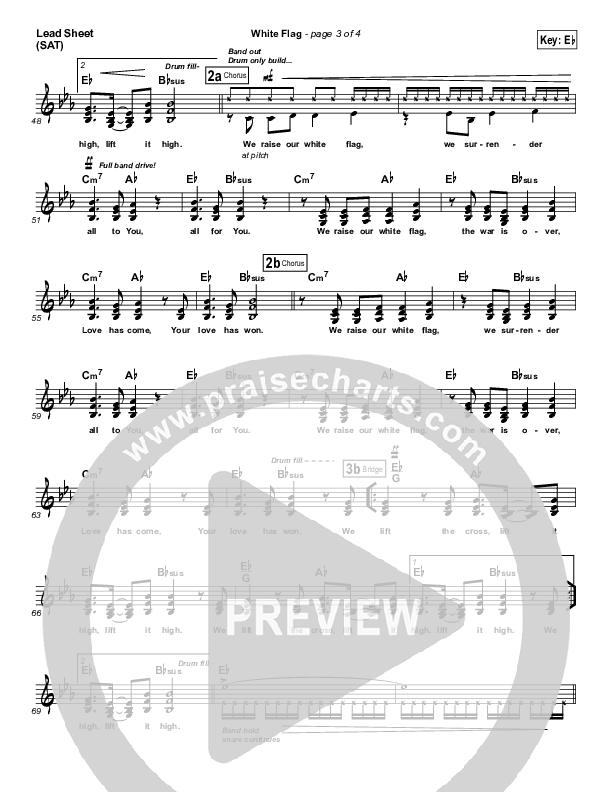 White Flag Lead & Piano/Vocal (Chris Tomlin)