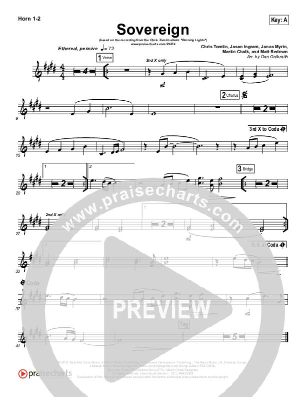 Sovereign Brass Pack (Chris Tomlin)