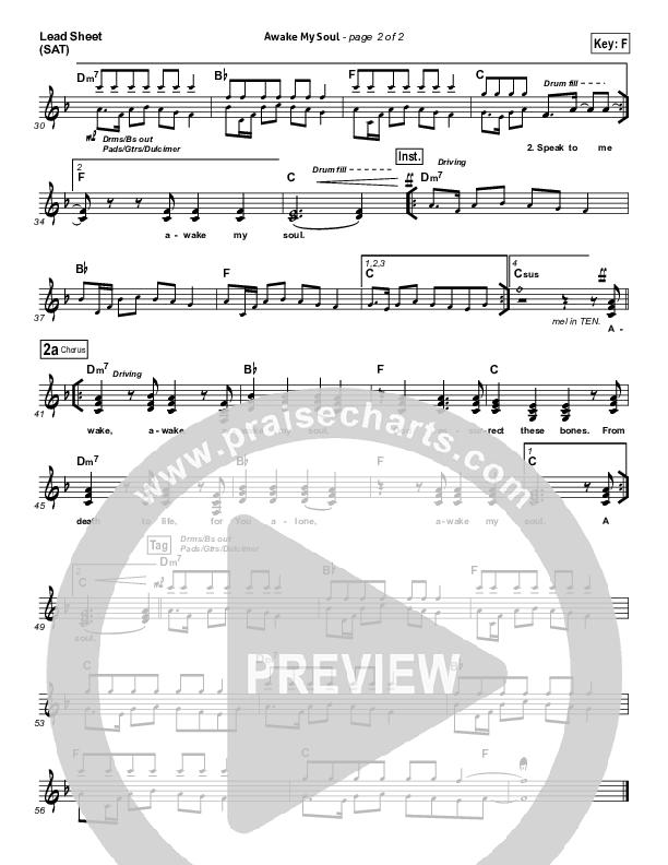 Awake My Soul Lead & Piano/Vocal (Chris Tomlin)
