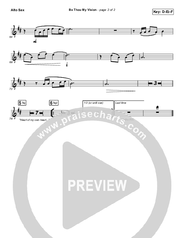 Be Thou My Vision Wind Pack (PraiseCharts Band / Arr. John Wasson)
