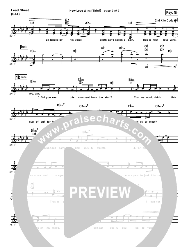 How Love Wins (Thief)  Orchestration (with Vocals) (Steven Curtis Chapman)