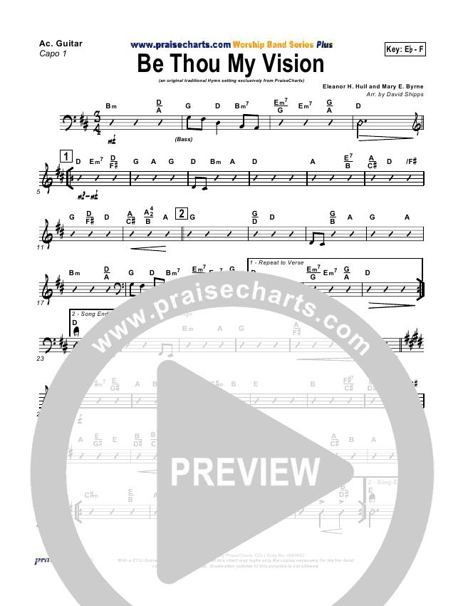 Be Thou My Vision Rhythm Chart David Shipps Praisecharts