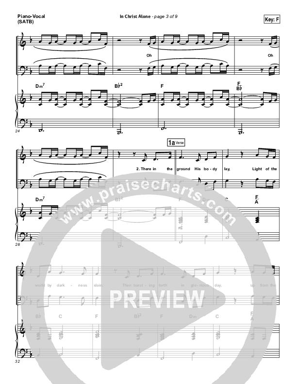 In Christ Alone Piano/Vocal (SATB) (Kristian Stanfill / Passion)