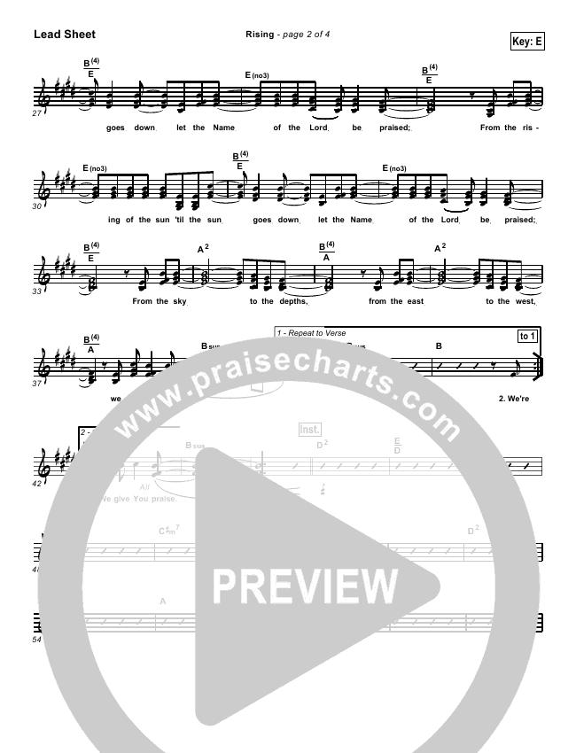 Rising Orchestration & Finale (Paul Baloche)