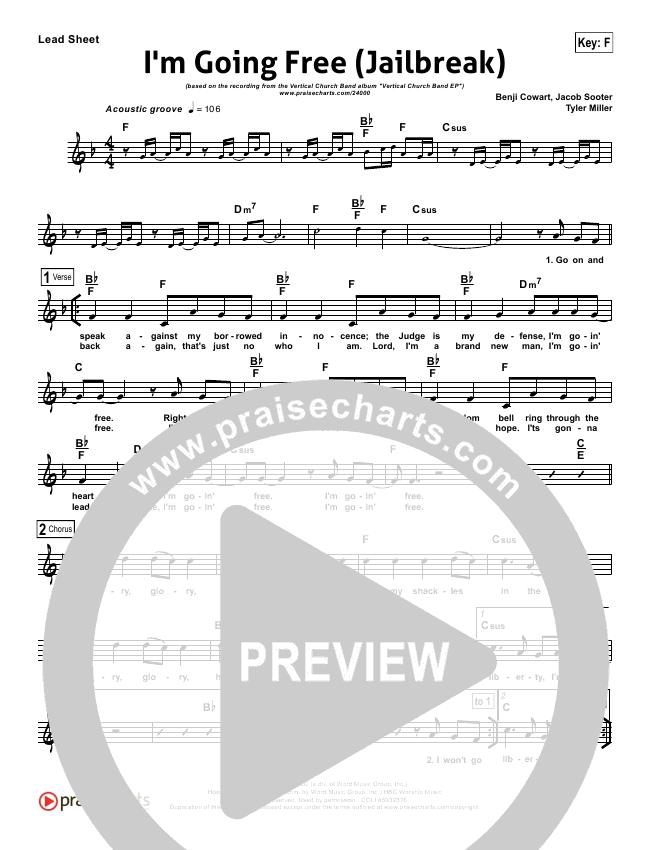 I'm Going Free (Jailbreak) Lead (SAT) (Vertical Worship)