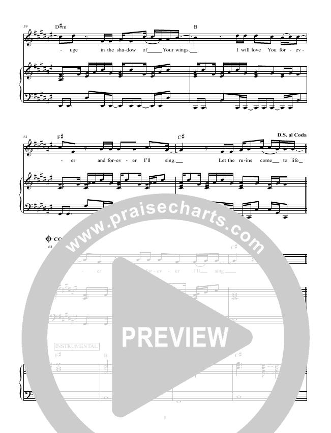 Glorious Ruins Orchestration Hillsong Worship Praisecharts