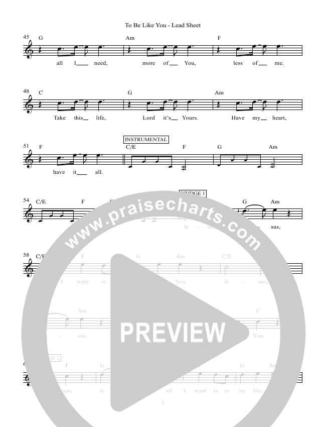 If Today (Psalm 95) Lead Sheet (Victor Rodriguez)