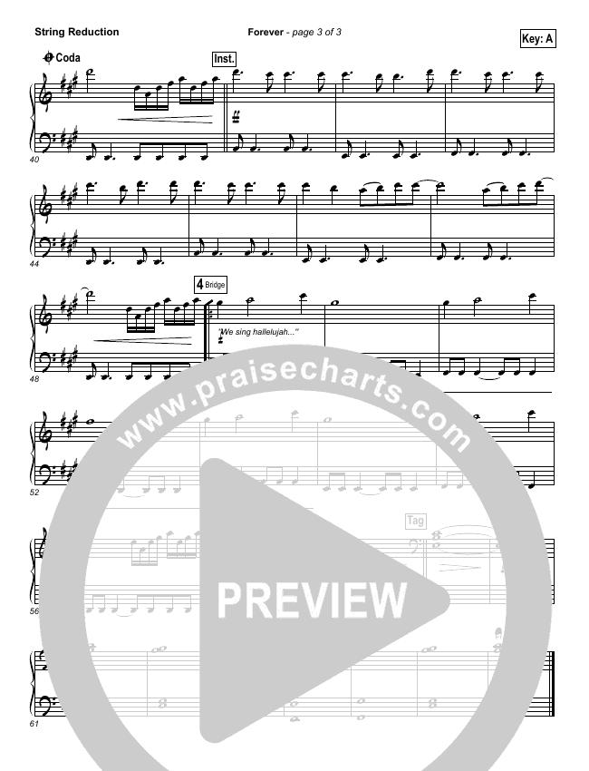 Forever String Pack (Bethel Music / Brian Johnson)