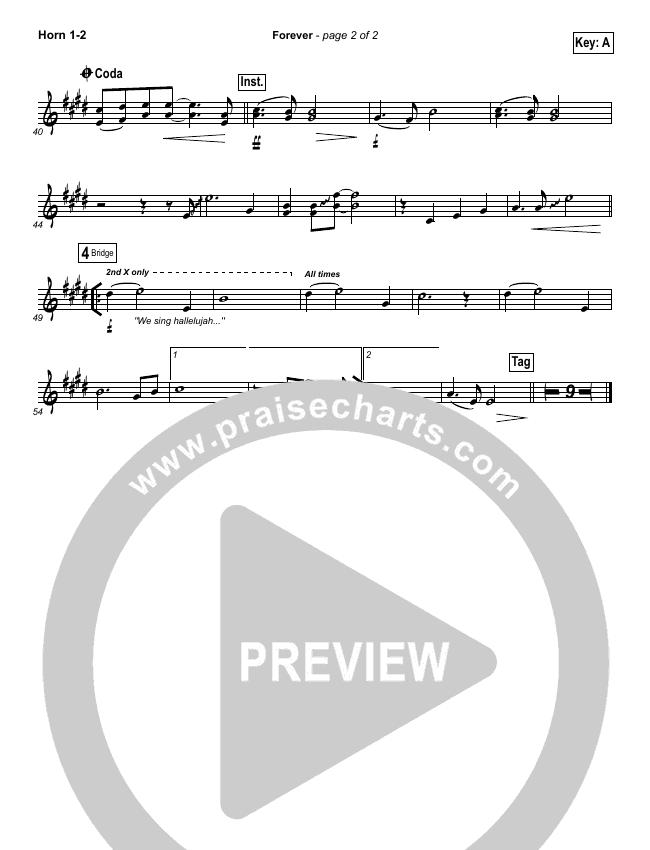 Forever Brass Pack (Bethel Music / Brian Johnson)