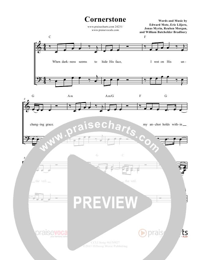 Cornerstone Lead Sheet (PraiseVocals)