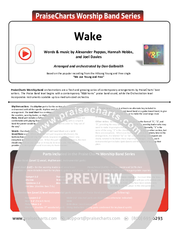 Wake Orchestration (Hillsong Young & Free)
