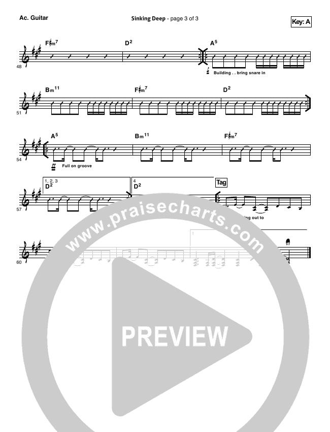 sinking deep hillsong piano sheet music pdf