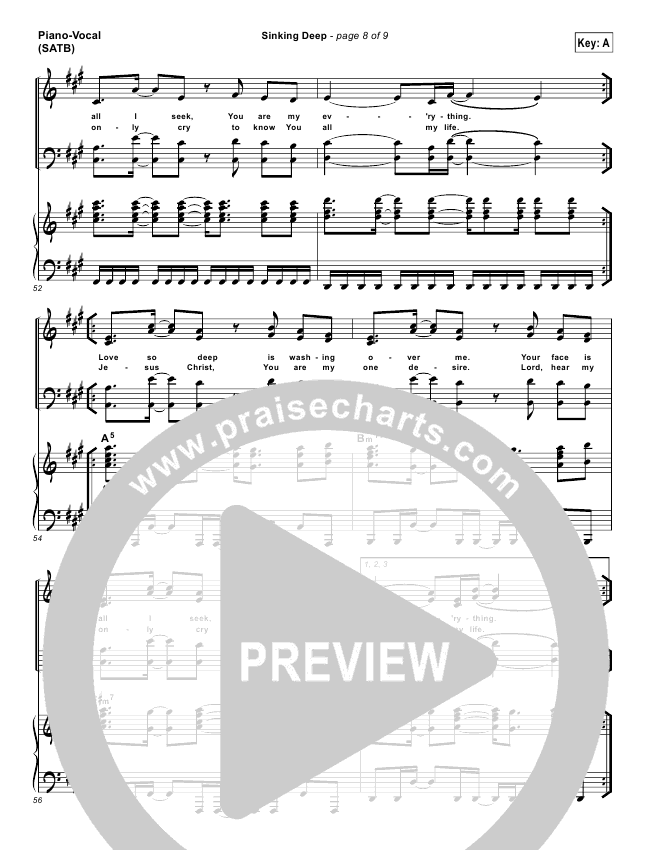Funky Sinking Deep Hillsong Chords Image Collection - Beginner ...