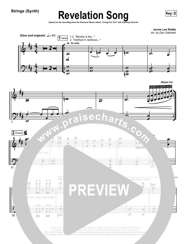 Revelation Song String Pack (Gateway Worship)