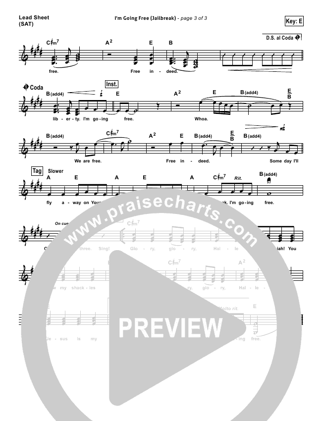 I'm Going Free (Jailbreak) Orchestration (with Vocals) (Vertical Worship)