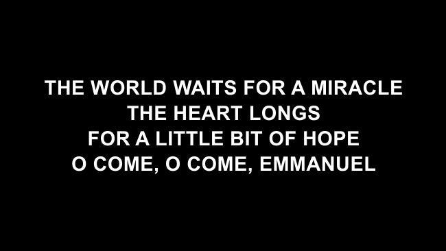 Light Of The World Lyric Slides (Lauren Daigle)