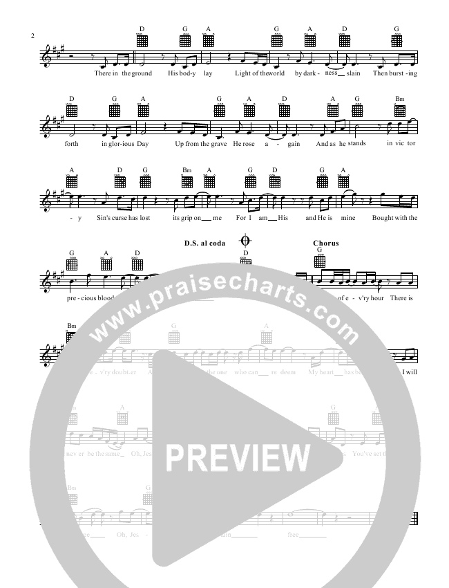 In Christ Alone Lead Sheet (CP Worship)