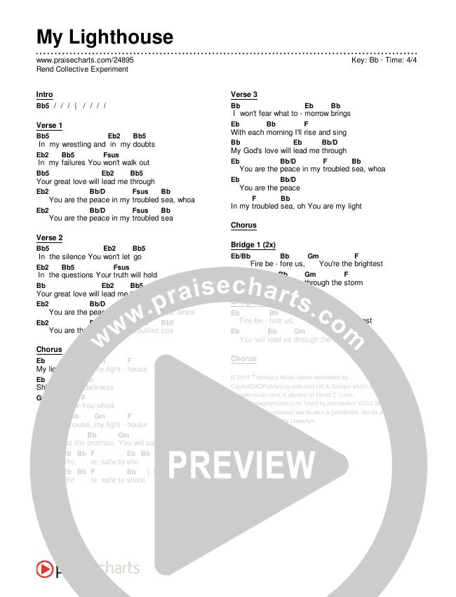 My Lighthouse Chords & Lyrics (Rend Collective)