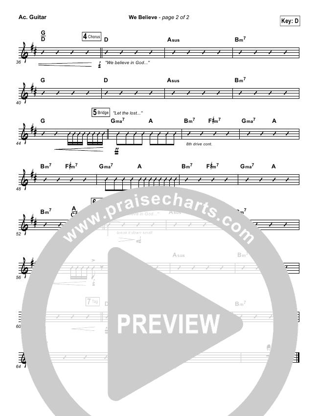 We Believe Rhythm Chart Newsboys Praisecharts