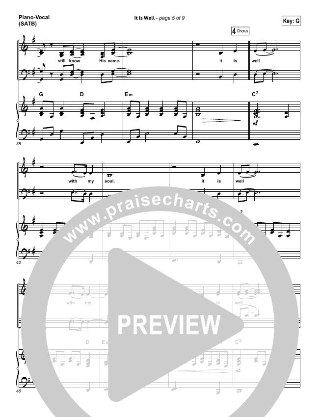 it is well bethel piano pdf
