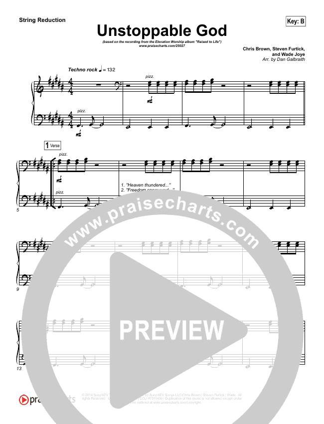 Unstoppable God String Pack (Elevation Worship)