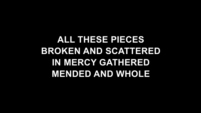 Broken Vessels Lyric Slides (Hillsong Worship)