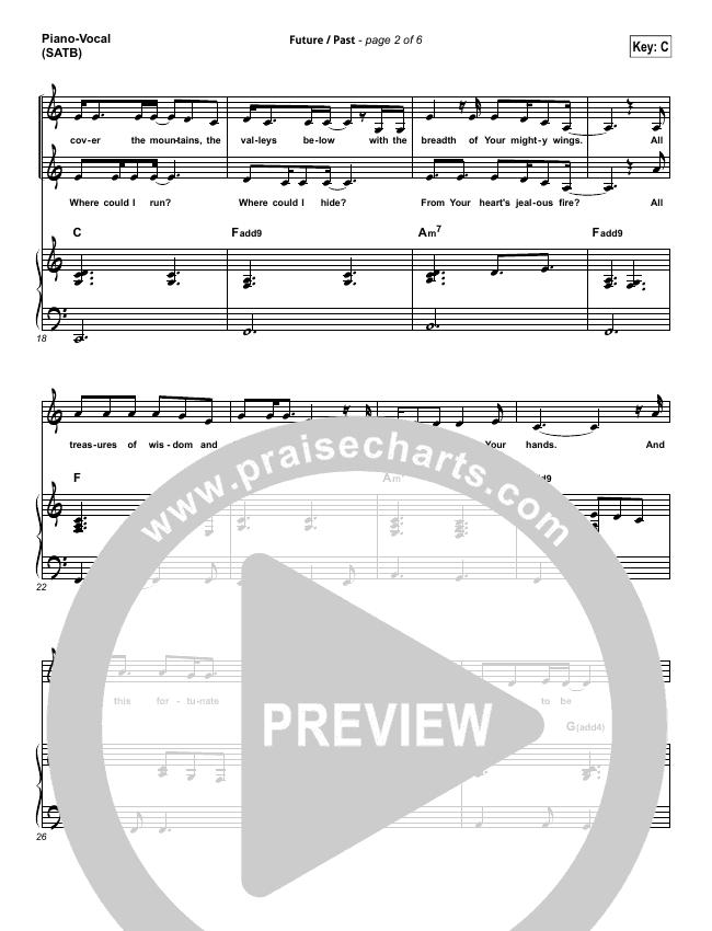 Future Past Piano/Vocal (SATB) (John Mark McMillan)