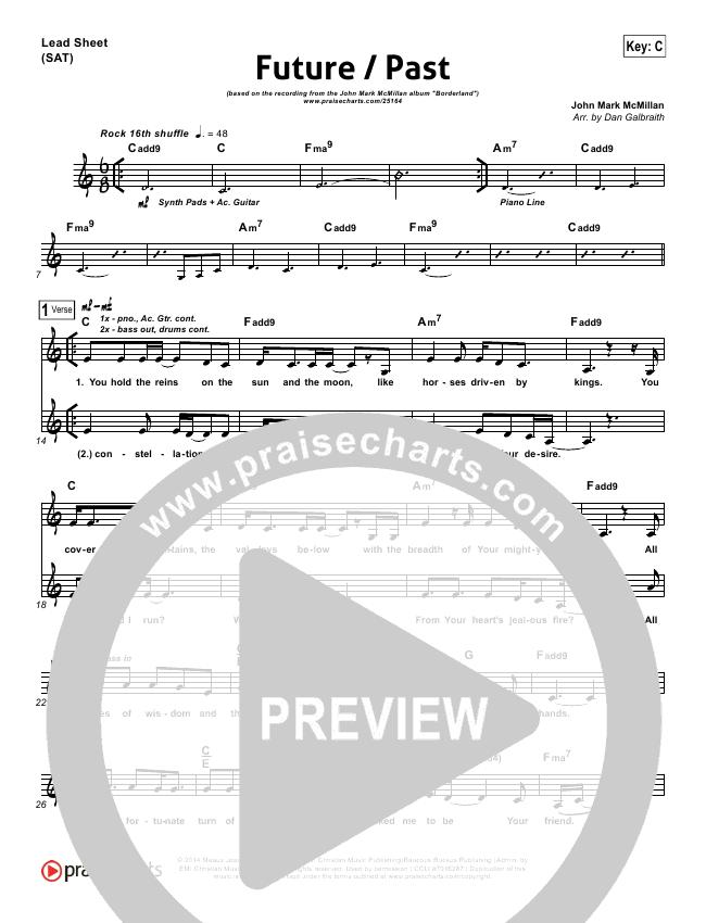 Future Past Lead & Piano/Vocal (John Mark McMillan)