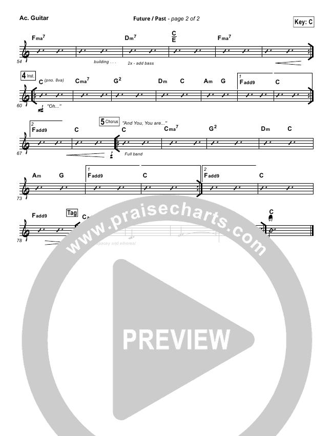 Future Past Rhythm Chart (John Mark McMillan)