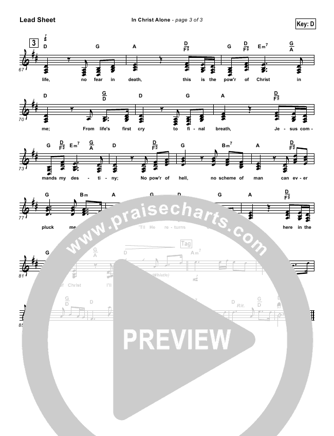 in christ alone piano sheet music pdf
