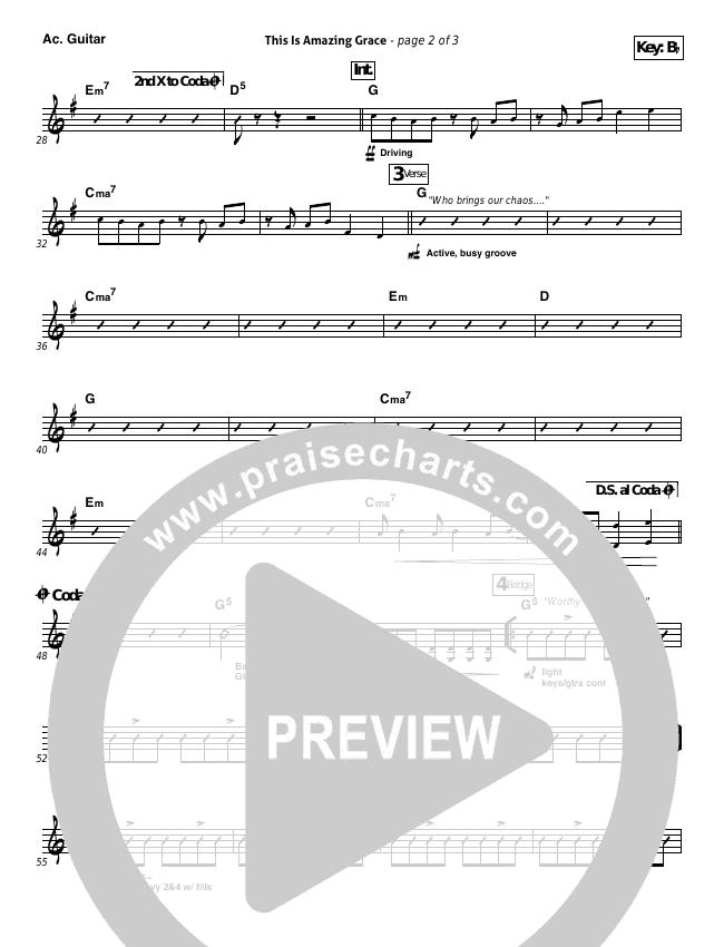 This Is Amazing Grace Rhythm Chart Phil Wickham Praisecharts