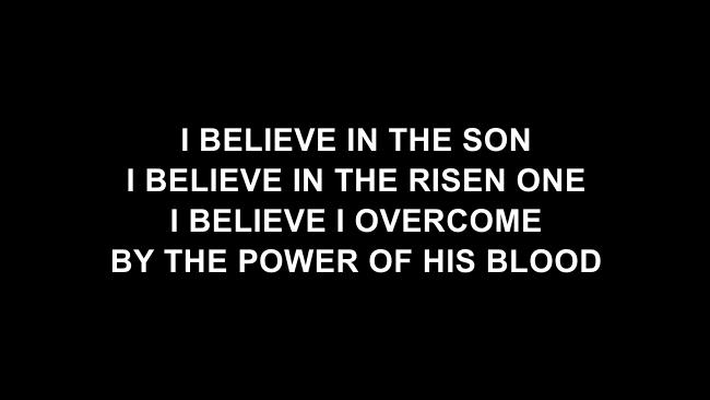 Because He Lives (Amen) Lyric Slides (Matt Maher)