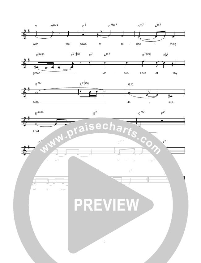 Silent Night Lead & Piano (Hillsong Worship)