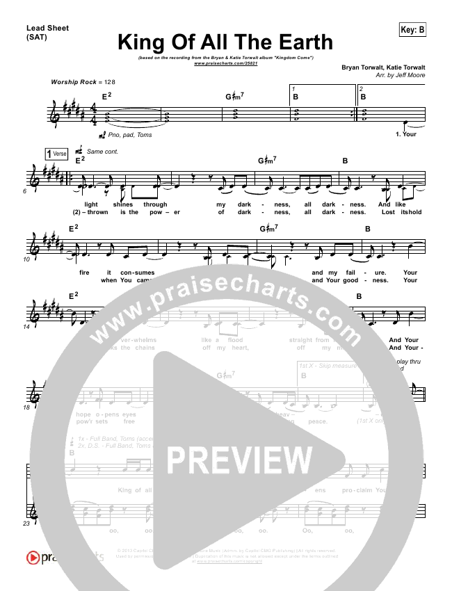 It's Always Been You Lead Sheet (SAT) (Phil Wickham)