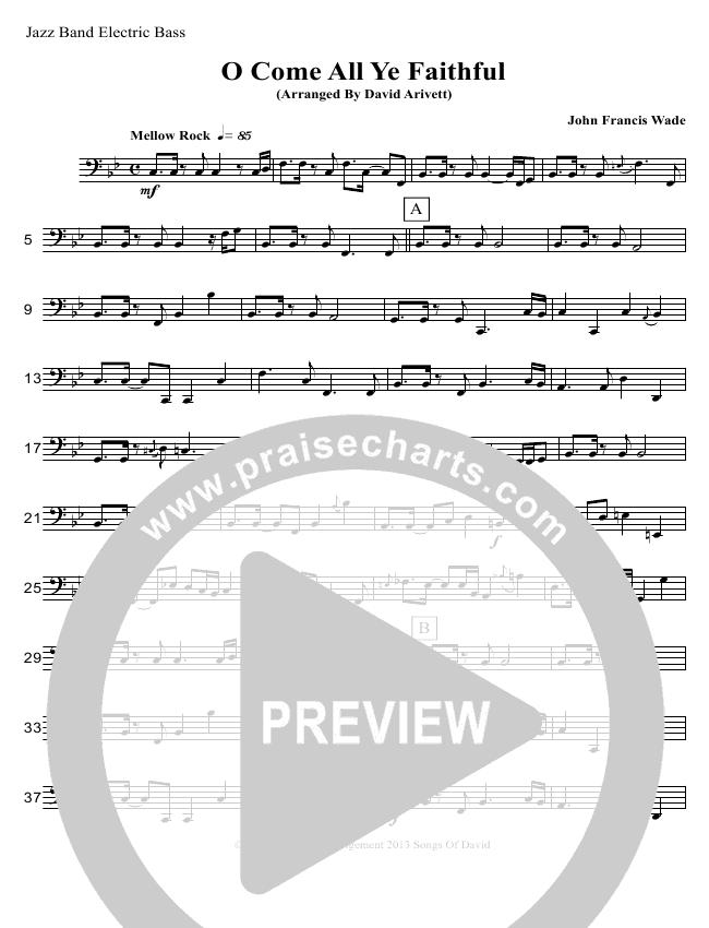 O Come All Ye Faithful (Instrumental) Inst. Ensemble (David Arivett)