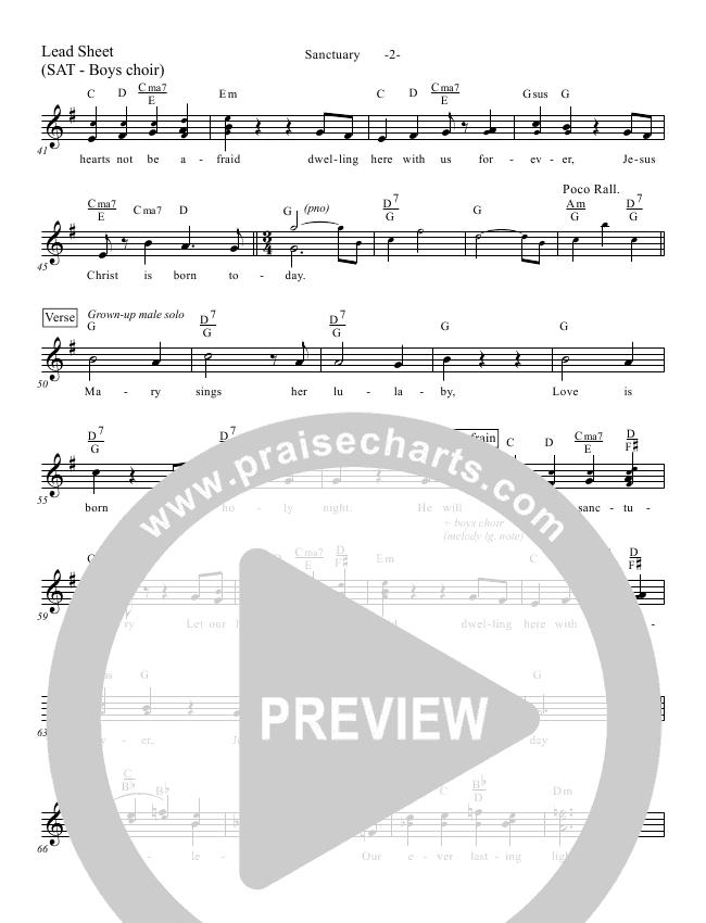 Sanctuary Lead & Piano/Vocal (Aaron Shust)