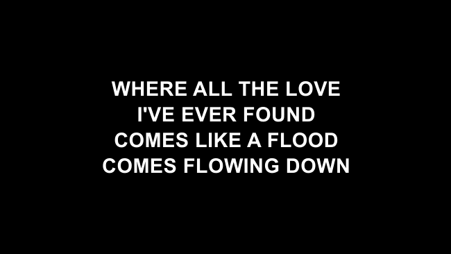 At The Cross (Love Ran Red) Lyric Slides (Chris Tomlin)