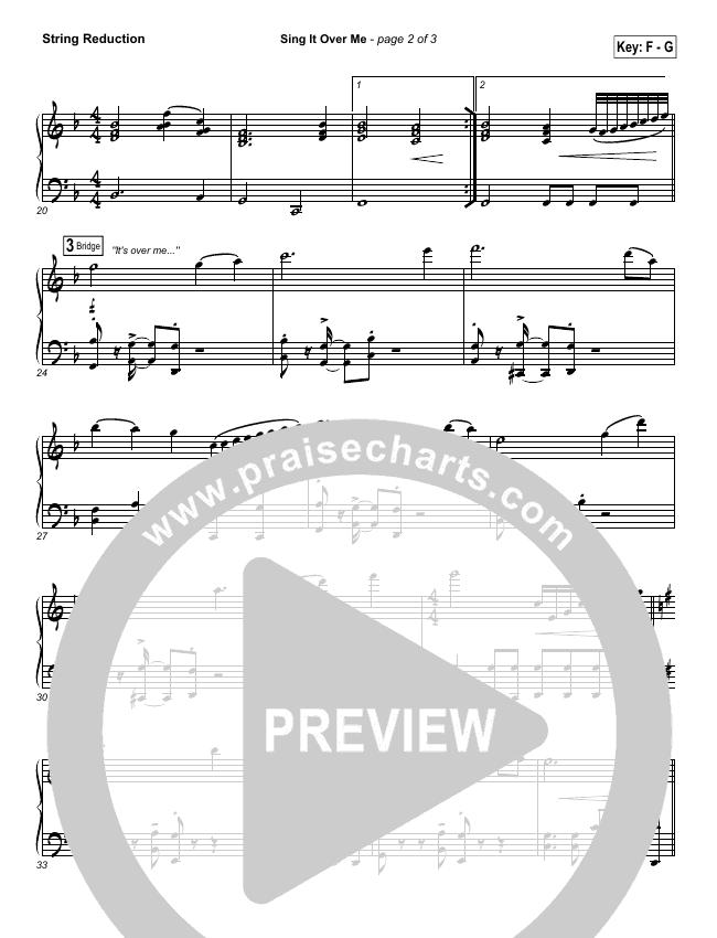 Sing It Over Me String Pack (Tommy Walker)