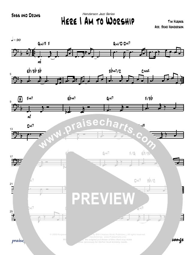Here I Am To Worship (Instrumental) Orchestration (Brad Henderson)