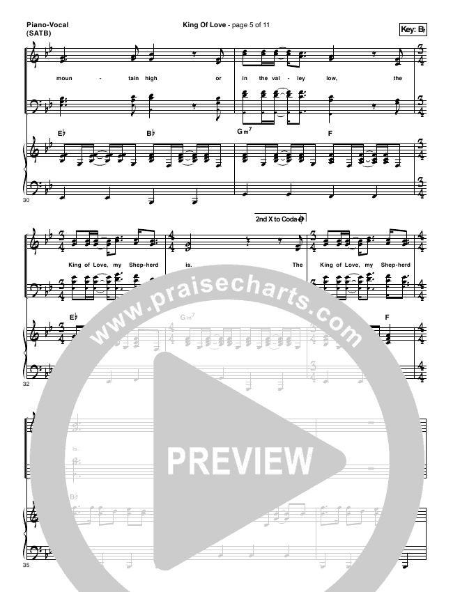 I Am They King Of Love Pianovocal Satb In Bb P: Sheet Music I Am They Amen At Alzheimers-prions.com