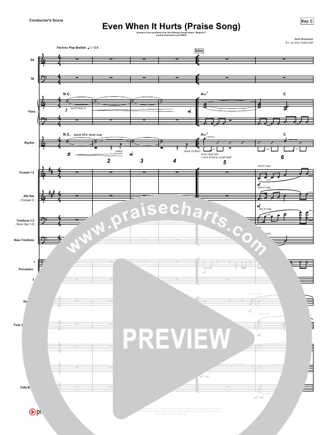 even when it hurts sheet music pdf