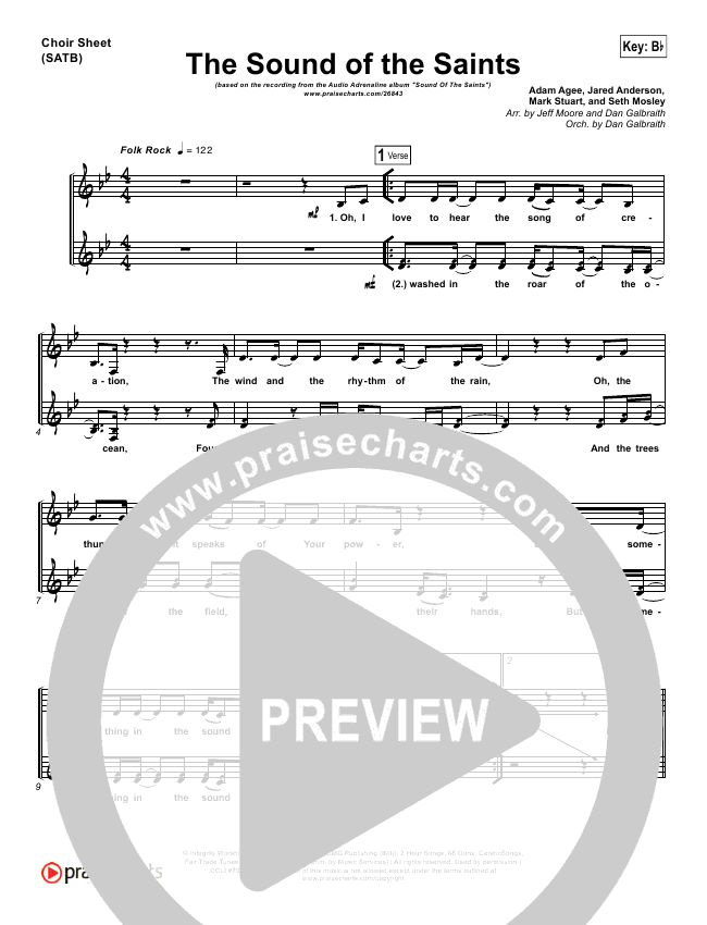satb choir sheet music pdf