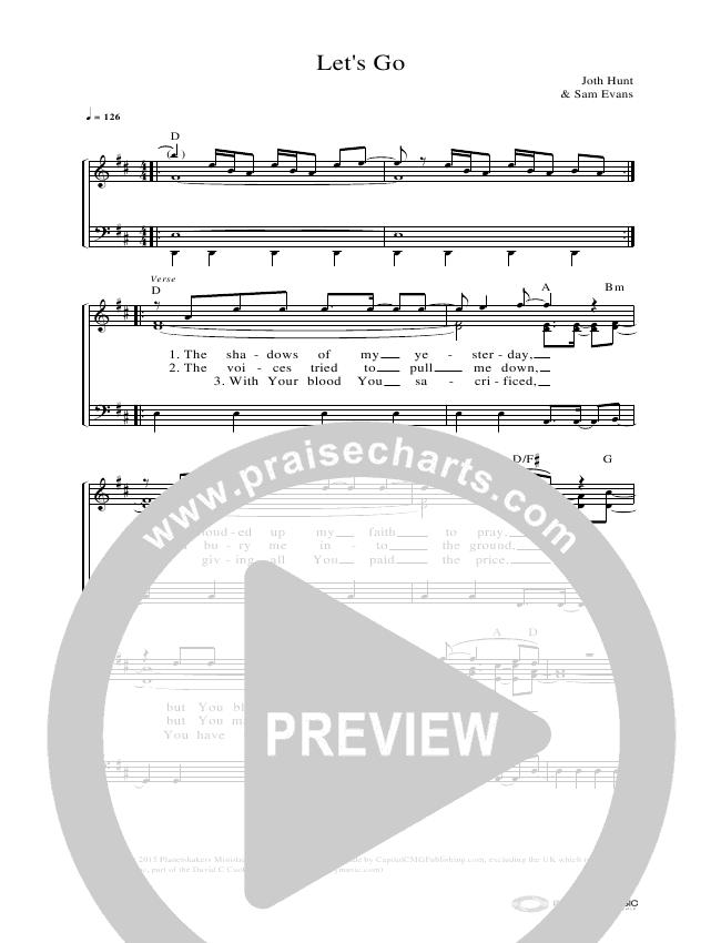 Let's Go Lead & Piano (Planetshakers)