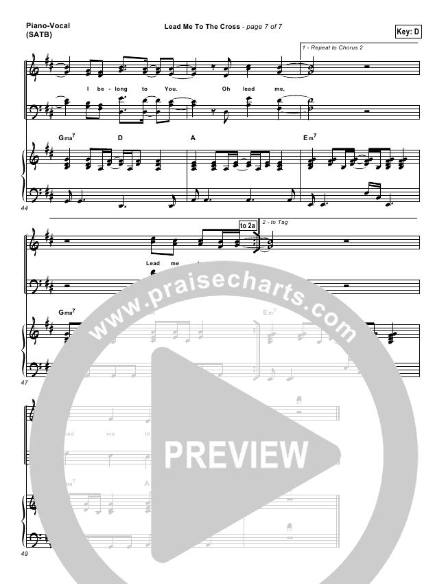 at the cross hillsong piano sheet music pdf