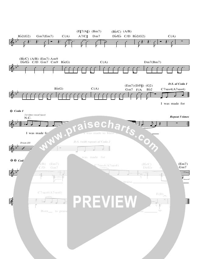 Born To Praise Lead & Piano (Planetshakers)