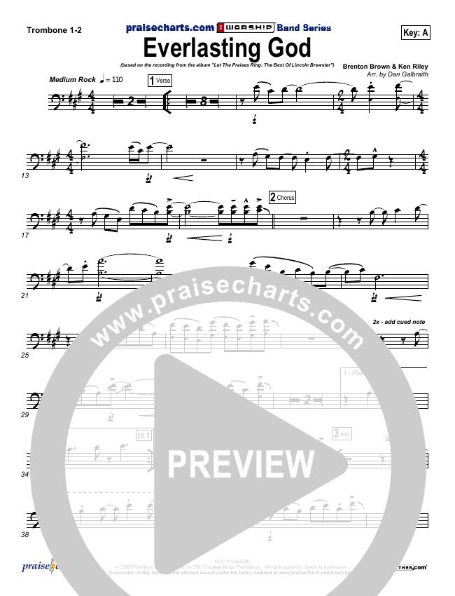 Everlasting God Brass Pack (Lincoln Brewster)