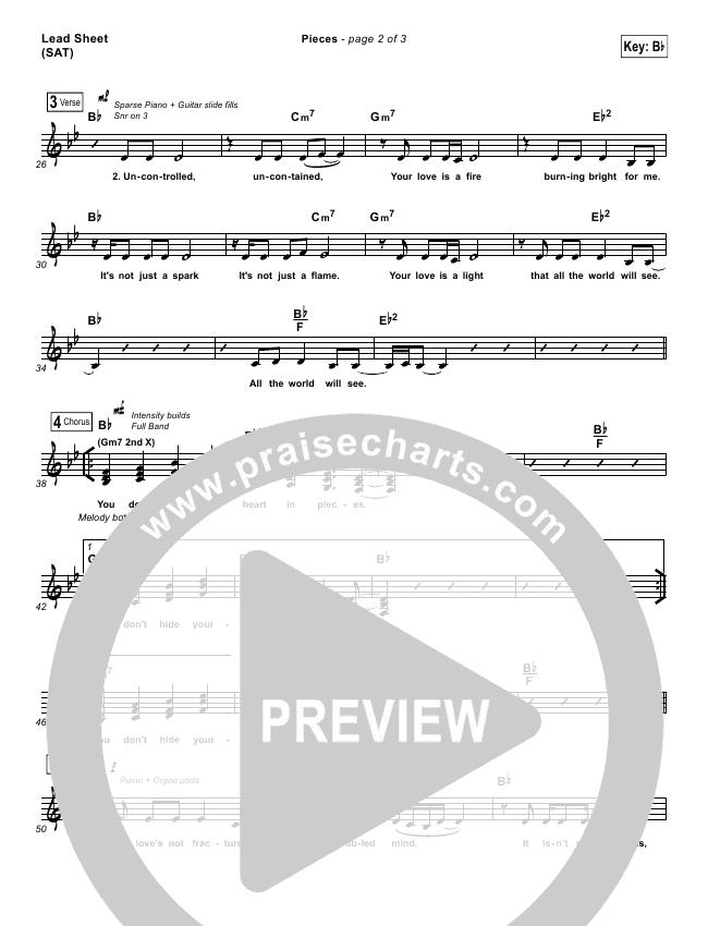 Pieces Orchestration & Finale (Amanda Lindsey Cook)