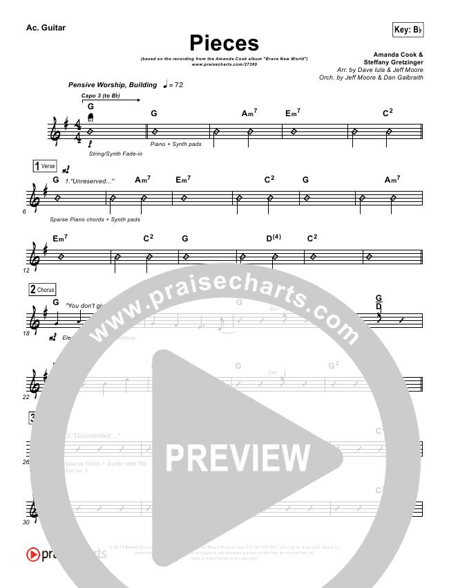 Pieces Rhythm Chart (Amanda Lindsey Cook)